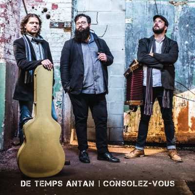 De Temps Antan - CD Cover Album 2017